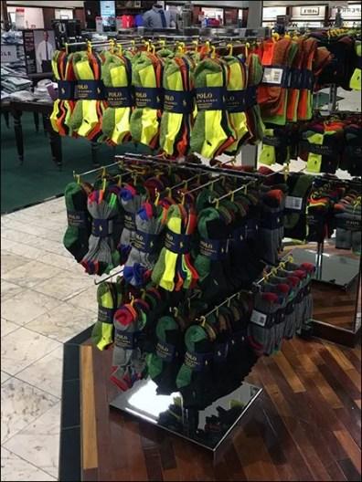 Polo Ralph Lauren Color Sock Display 3