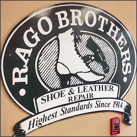 Rago Brothers Vintage Sign, Logo and Branding