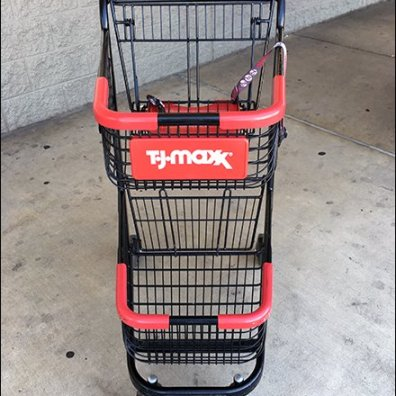 I Brake For Fashion Shopping Cart at T.J.Maxx