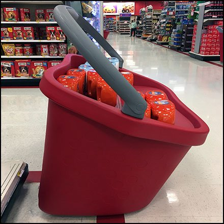 Target Giant Shopping Carry Display Redux Feature