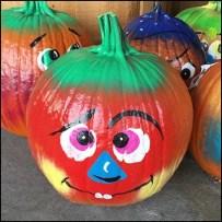 Painted Pumpkins Ready-To-Go at Wegmans