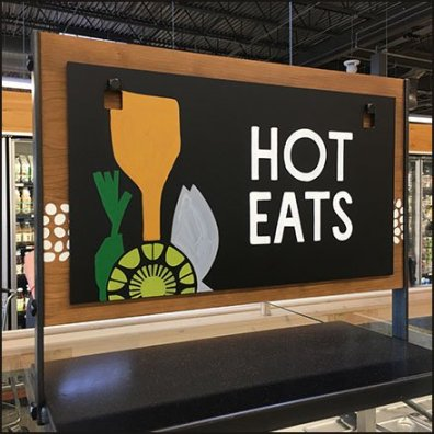 Hot Eats Buffet Offering at Whole Foods