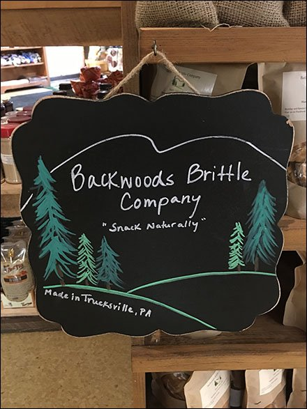 Backwoods Brittle Branding At Farm Store