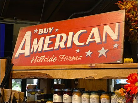 Buy American Farm Store Promotion