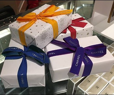 Chanel Branded Ribbon Tied Boxes For Gabrielle