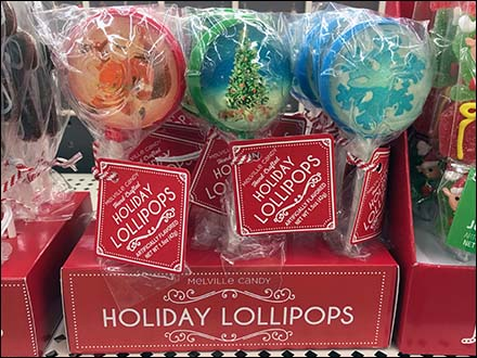 Hand-Crafted Christmas Holiday Lollipop Display
