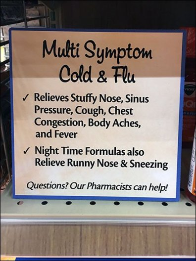 Cold and Flu On-Shelf Category Definition