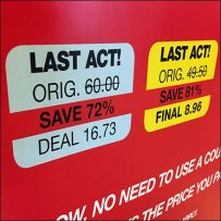 Color-Coded Discounts for Macy's Last Act