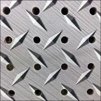Faux Diamond Plate Pegboard Skinz