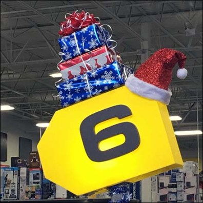 Festive Christmas Cashwrap At Best Buy