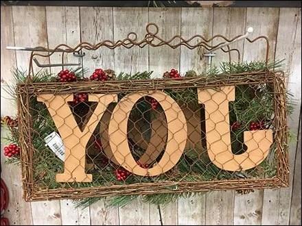 Joy According to JoAnn Fabrics and Crafts