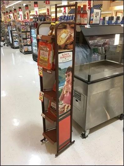 Reverse Gravity Feed Rack for Baked Goods