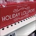 Christmas Gingerbread Holiday Lollipop Display