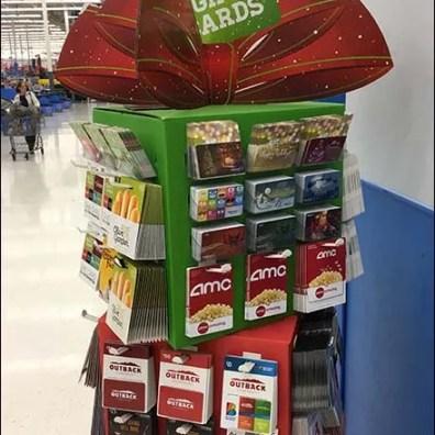 Mini Christmas Gift Card Tower at Walmart