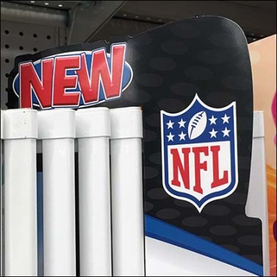 NFL Football Poster Display New Flag