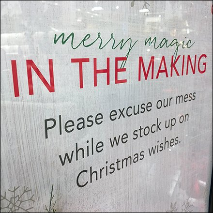 Pardon The Christmas Construction Mess Feature