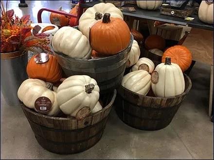 Wood Tub Pumpkin Bulk Bins At Lowes