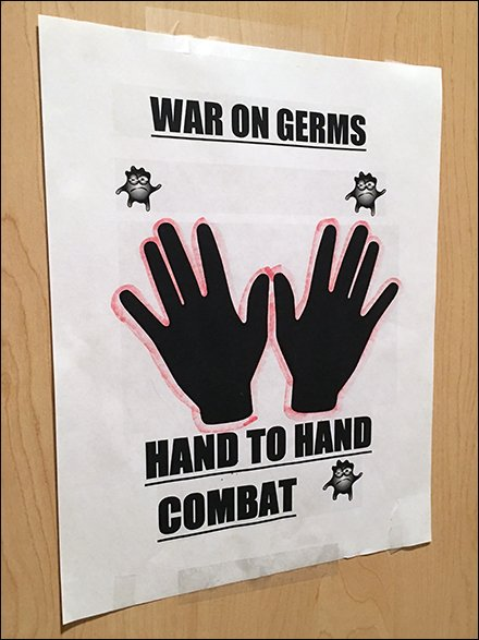 Hand-to-Hand Combat In The Restroom
