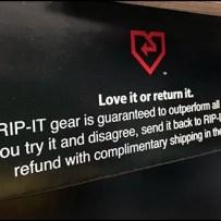 Rip-It Return Policy For Batting Helmets