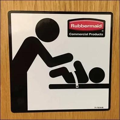 Rubbermaid Branded Restroom Signage Square2