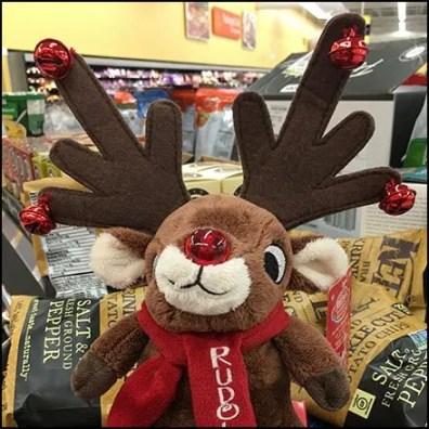 Rudolph The Reindeer Ear Piercing Antlers
