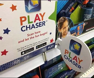 Shelf-Edge Flag Play Chaser Promotion 2