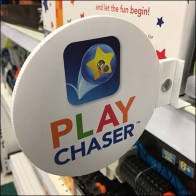 Shelf-Edge Flag Play Chaser Promotion Feature