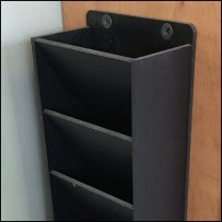 Sidesaddle Vertical Business Card Holder