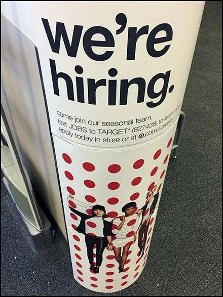 We're Hiring Polka Dots At Target