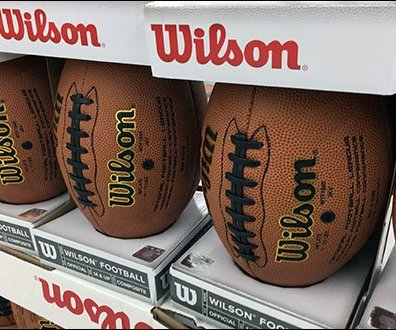 NFL Football Lineup Merchandising