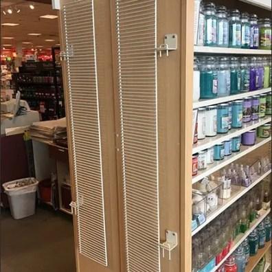 Yankee Candle Add-On Grid Merchandiser