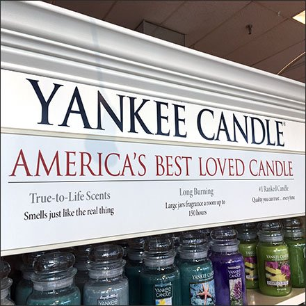Yankee Candle Department Outfitting Feature