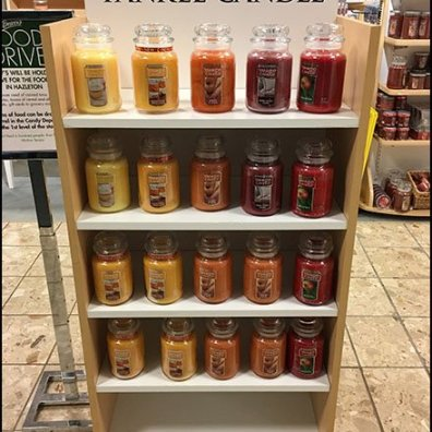 Yankee Candle Half-Height Island Display