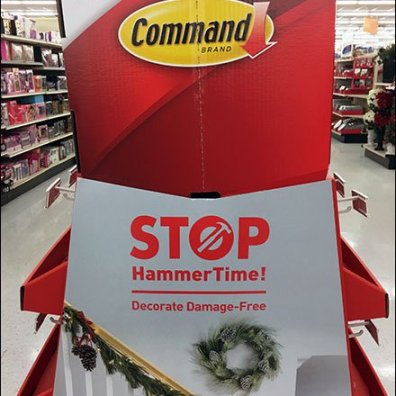 Damage Free Decoration With Command Strip