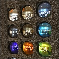Color Sunglass Display By Solar Radiation Control