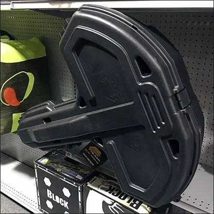 Crossbow Case Shelf-Edge Display
