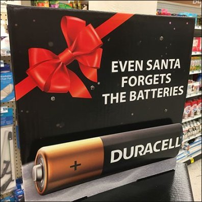 Duracell Even Santa Forgets Batteries Feature