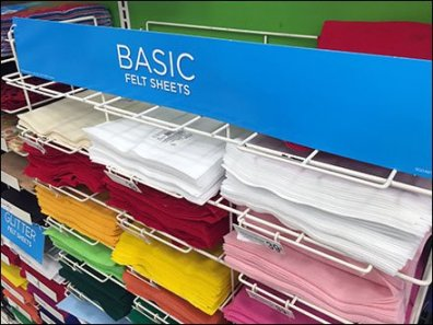 Flat-Shelf Merchandiser Rack With Pegboard Anchor