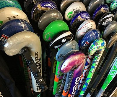 Ballstopped Waterfall Faceout for Field Hockey Sticks