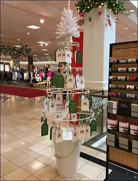 Give Shoes That Fit Nordstrom Charity Tree