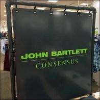 John Bartlett Branded Backdrop Feature