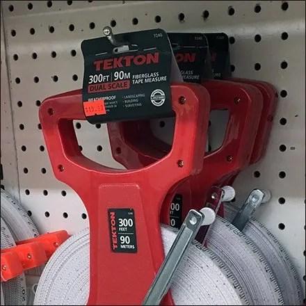 Tight Fit On Tekton Surveyors Tape Pegboard Hooks
