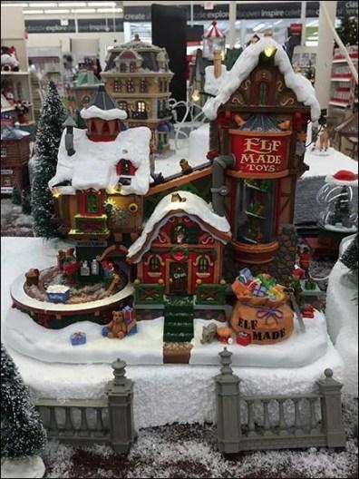 Elf Toys Village Video