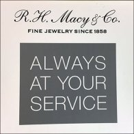 Jewelry Services Menu Freestanding At Macy's