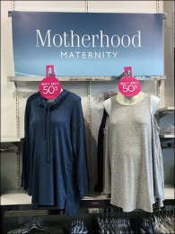 Circular Door Hanger at Motherhood Maternity