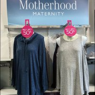 Circular Door Hanger at Motherhood Maternity