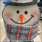 RiteAid Snowman Gift Card Display Feature