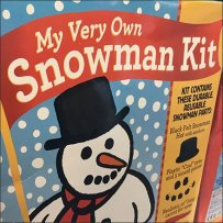 Snowman Kit Seasonal Merchandising