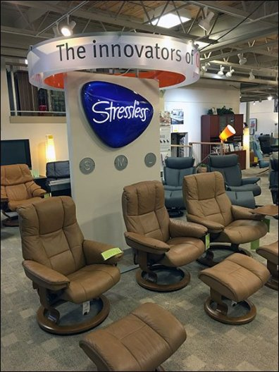 Stressless Comfort in Small, Medium, and Large