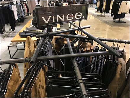 Pick-Up Sticks Apparel Rack Branded Vince